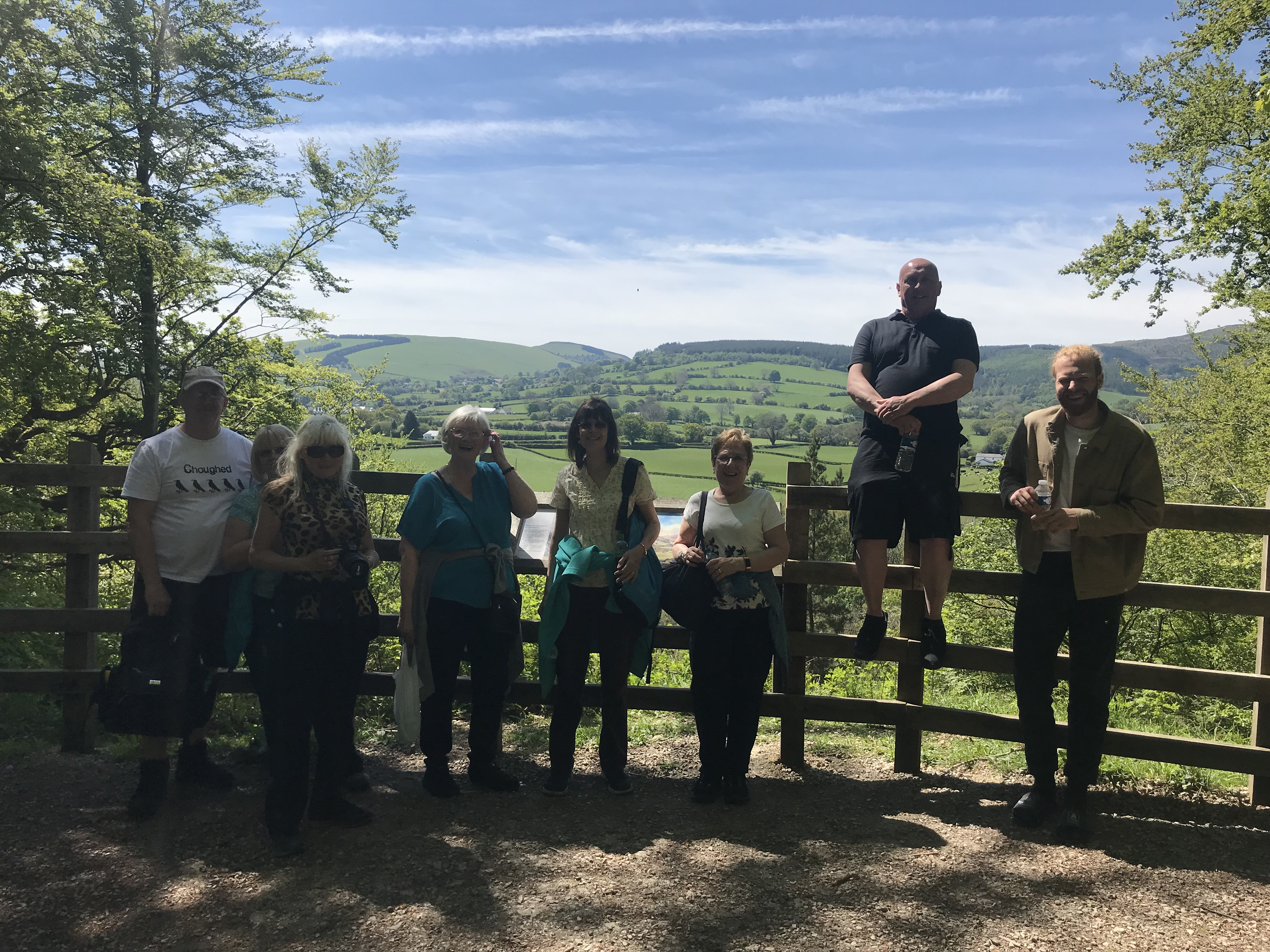 Group at Loggerheads at top