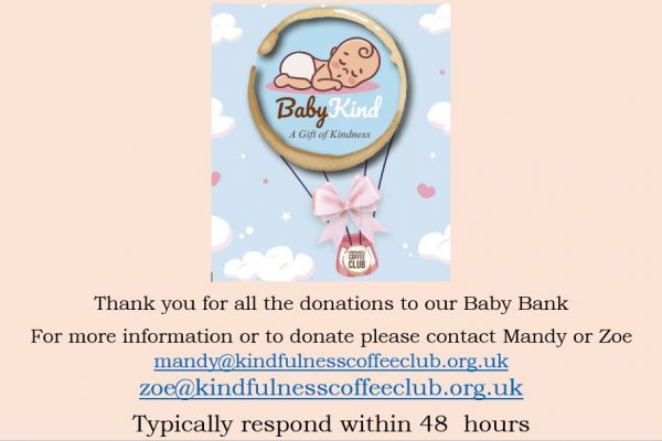 Baby bank thankyou